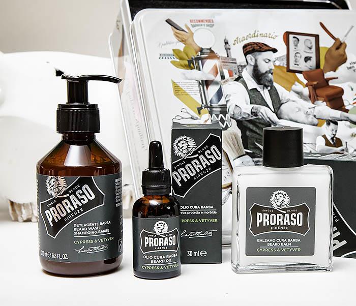 Proraso, Набор для бороды PRORASO «CYPRESS & VETYVER» шампунь, бальзам и масло proraso шампунь для бороды
