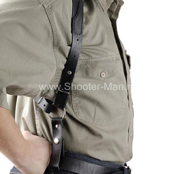 Оперативная кобура для револьвера Гроза Р-03 вертикальная ( модель № 20 ) Стич Профи