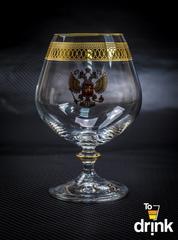 Подарочный набор из 6 хрустальных бокалов для коньяка «Министерский», 400 мл, фото 1