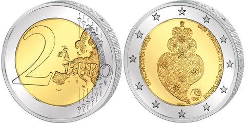 2 евро 2016 Португалия - Олимпиада в Рио