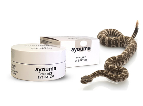 AYOUME Патчи для глаз антивозрастные со змеиным пептидом SYN-AKE EYE PATCH 1,4гр*60
