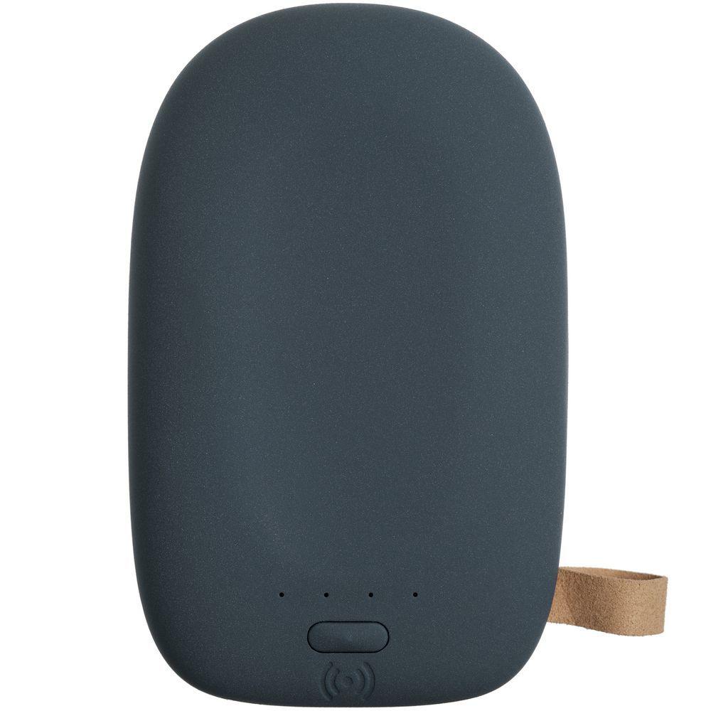 Stone Wireless Power Bank 9000 mAh, grey-blue