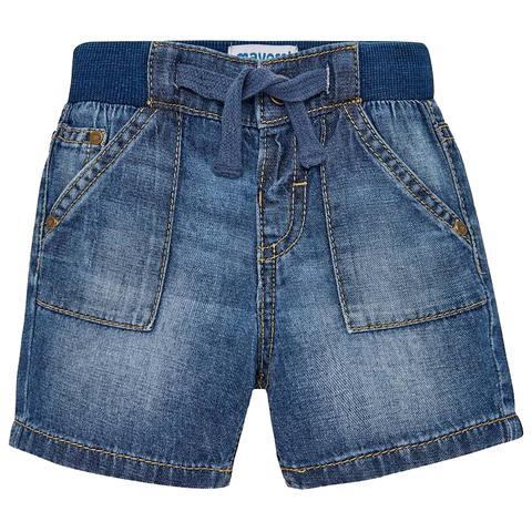 Шорты Mayoral джинсовые с утяжкой