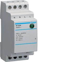 Разрядник защиты от перенапряжения класс D 1P monoblock 3kA Res.