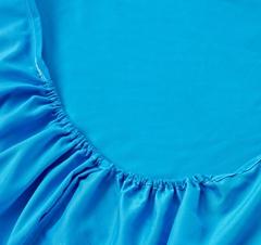 Простынь на резинке Valtery Джерси B Бирюза, вид 3