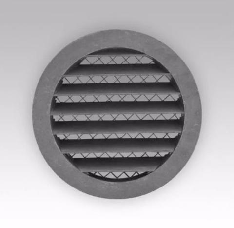 Антивандальная алюминиевая наружная решетка Эра 15 РКМ