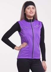Детский лыжный жилет Nordski Premium Violet-Black