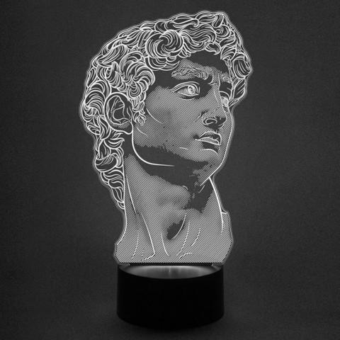 ночник Статуя Давид (Микеланджело)