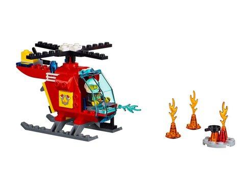 LEGO Juniors: Чемоданчик «Пожар» 10685 — Fire Fighting Corps Set Helicopter & Motorcycle — Лего Джуниорс Подростки
