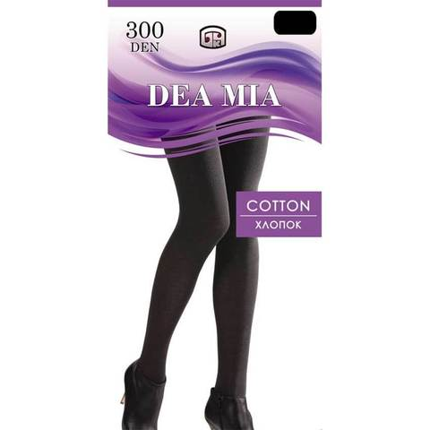 Колготки Cotton 300 XXL Dea Mia