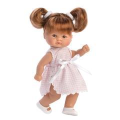 ASI Кукла-пупсик в клетчатом платье, 20 см (114640)