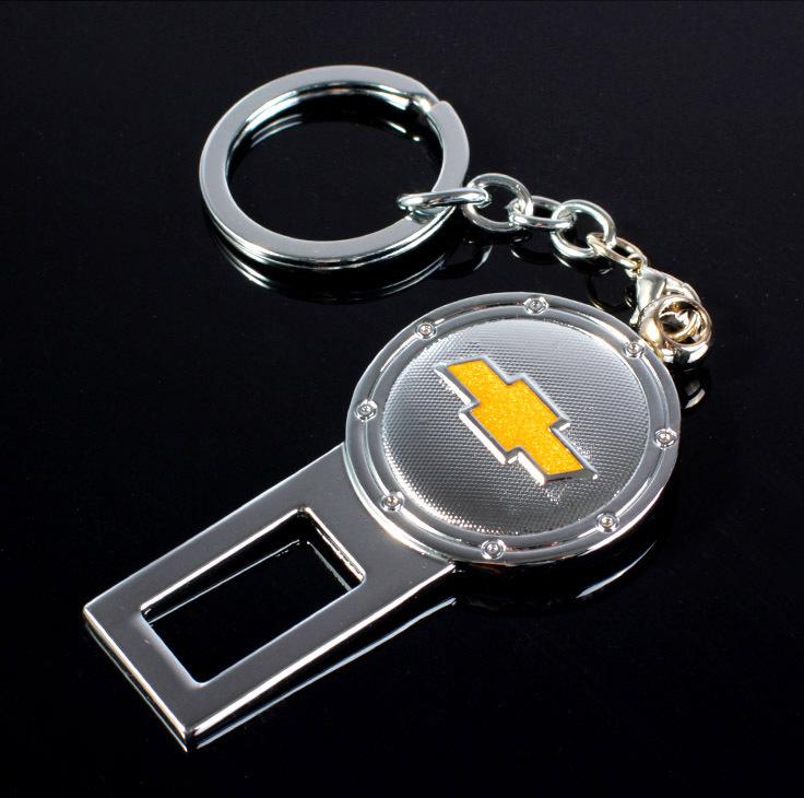 Заглушка замка ремня безопасности с логотипом Chevrolet  (1 шт.)