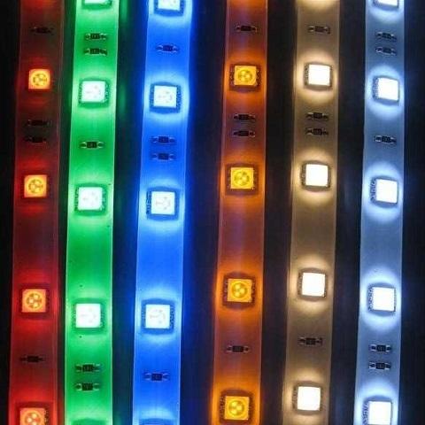 Светодиодная лента SMD5050/60, 12V. IP65. RGB.