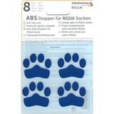 ABS-противоскользящие наклейки Regia для носков синий (8 шт.)