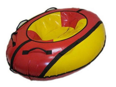Санки-ватрушка SnowDream Classic Strela 2 красно-желтая