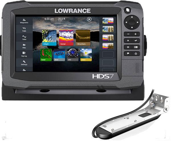 Комплект Lowrance HDS-7 + TotalScan Skimmer