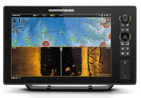 Эхолот-картплоттер Humminbird SOLIX 12 CHIRP MEGA SI GPS