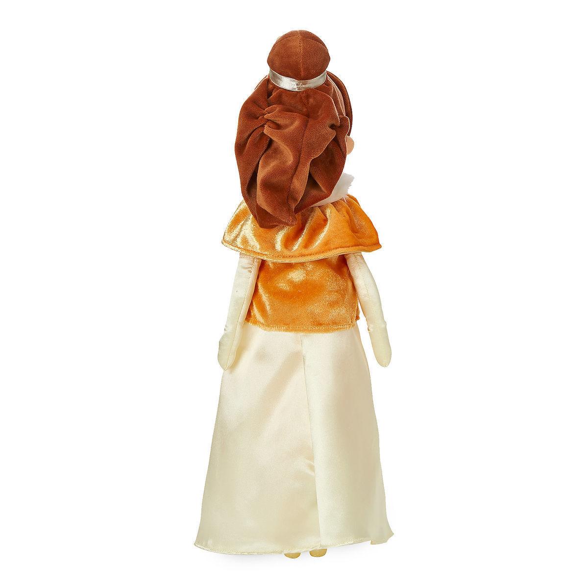 Мягкая кукла Бэль в зимней накидке - Дисней 46 см