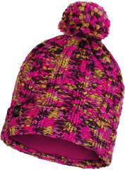 Шапка вязаная с флисом Buff Hat Knitted Polar Livy Magenta
