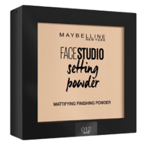Maybelline FaceStudio Setting powder пудра компактная №012 натурально-бежевый