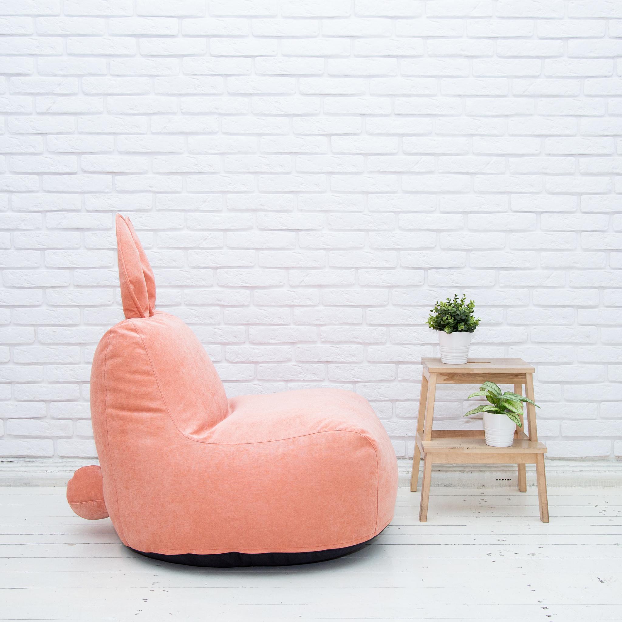 Кролик М микровельвет (персиковый)