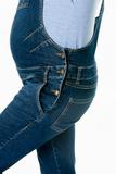 Комбинезон для беременных 09021 синий