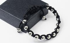 Мужской браслет шамбала из стали AlanDinu mn00420
