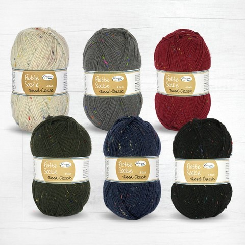 Пряжу Rellana Flotte Socke Tweed Classic 1504 купить в knit-socks