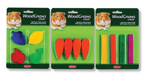 Padovan Игрушка WOOD GNAWS criceti деревянная  д/грызунов