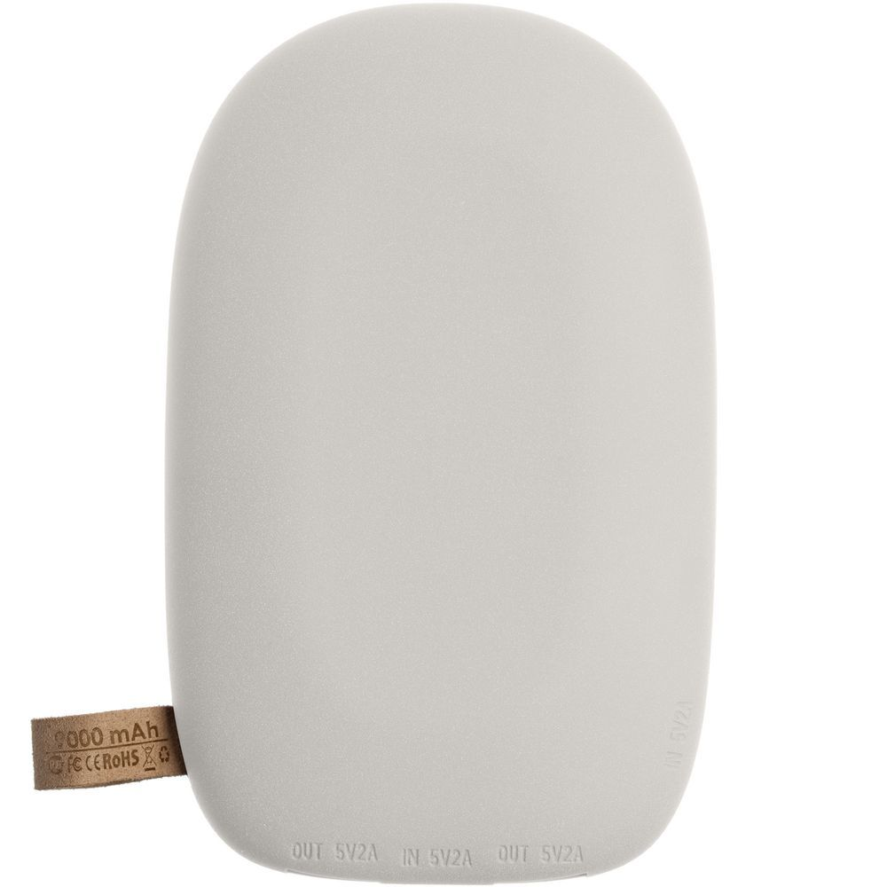 Stone Wireless Power Bank 9000 mAh, light grey