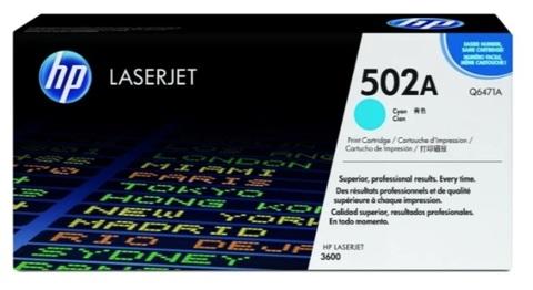 Картридж HP Q6471A 501A голубой