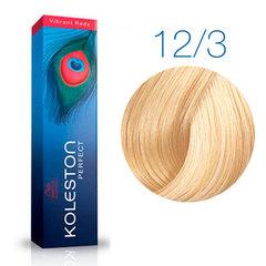 Wella Professional KOLESTON PERFECT 12/3 (Чайная роза) - Краска для волос