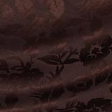 Плательный жаккард из льна и шёлка сливового цвета