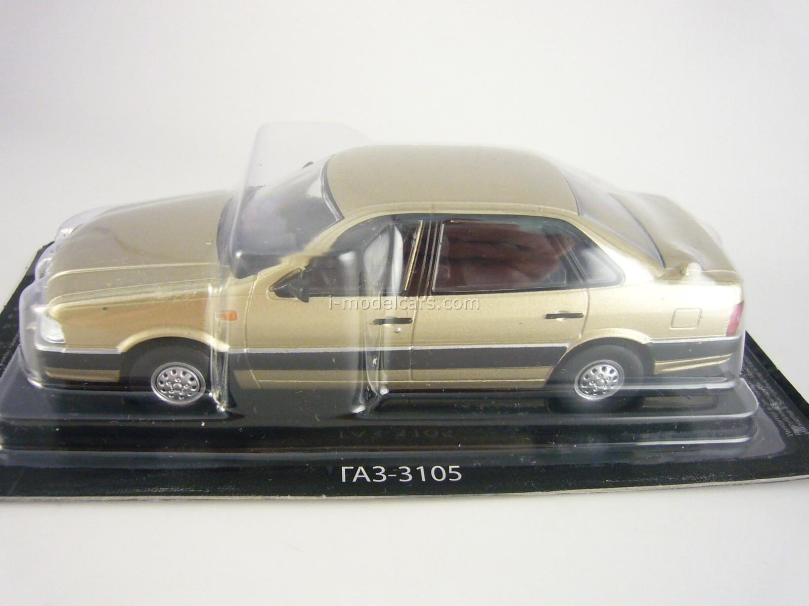 DeAgostini 1:43 AutoLegends USSR GAZ-31029 Volga