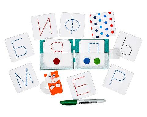 Учимся писать печатные буквы, Smile Decor