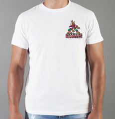 Футболка с принтом НХЛ Аризона Койотис (NHL Arizona Coyotes) белая 0016