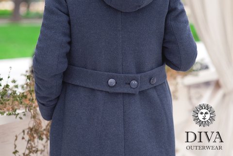 Слингопальто зимнее 3в1 Diva Outerwear Notte