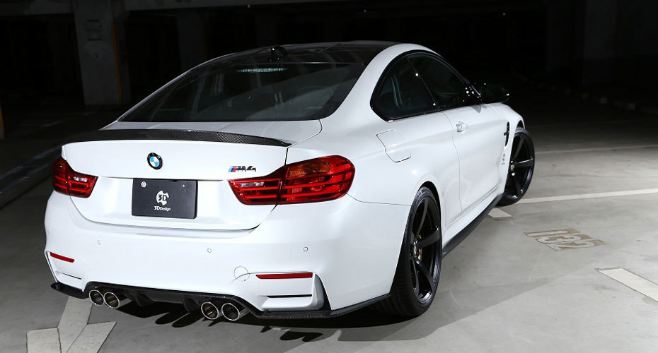 3D Design body kit for BMW M4 F82