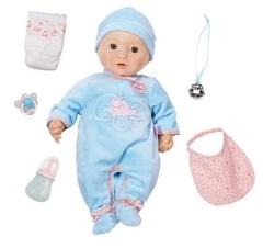 Zapf Creation Baby Annabell  Кукла-мальчик многофункциональная, 43 см (794-654)