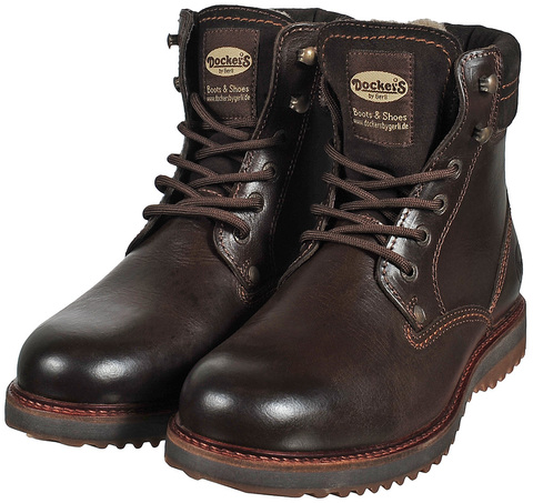 25745 dk brown   Ботинки мужские Dockers