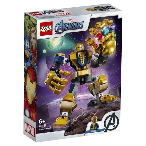 LEGO Super Heroes: Танос: трансформер 76141 — Thanos Mech — Лего Супергерои Марвел
