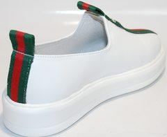 Спортивные туфли женские New Malange M970 white.