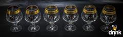 Подарочный набор из 6 хрустальных бокалов для коньяка «Министерский», 400 мл, фото 2