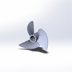 Naviga 30 mm props 1230/3 polished Doctorprops