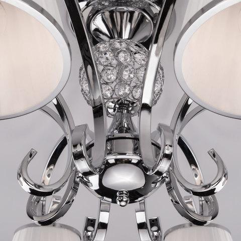 Потолочная люстра с абажурами 60088/8 хром