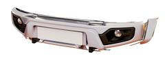 Бампер АВС-Дизайн передний UAZ Патриот/Пикап/Карго 2005- лифт Легкий-У (с оптикой)(белый)