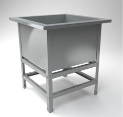 ВМПС -1-530 Ванна производственная, (630х630х870) глубина 400мм