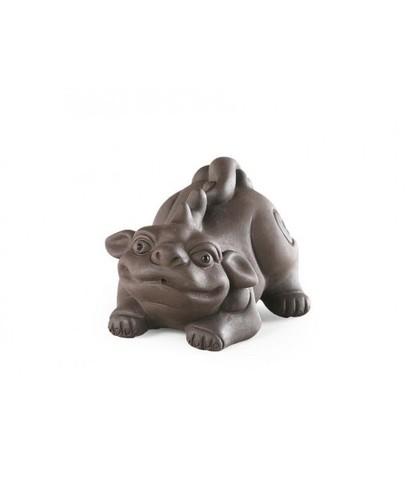 Чайная фигурка из исинской глины