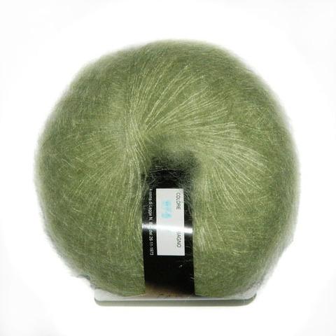 Купить Пряжа BBB Soft Dream Код цвета 0076 св зелёный | Интернет-магазин пряжи «Пряха»