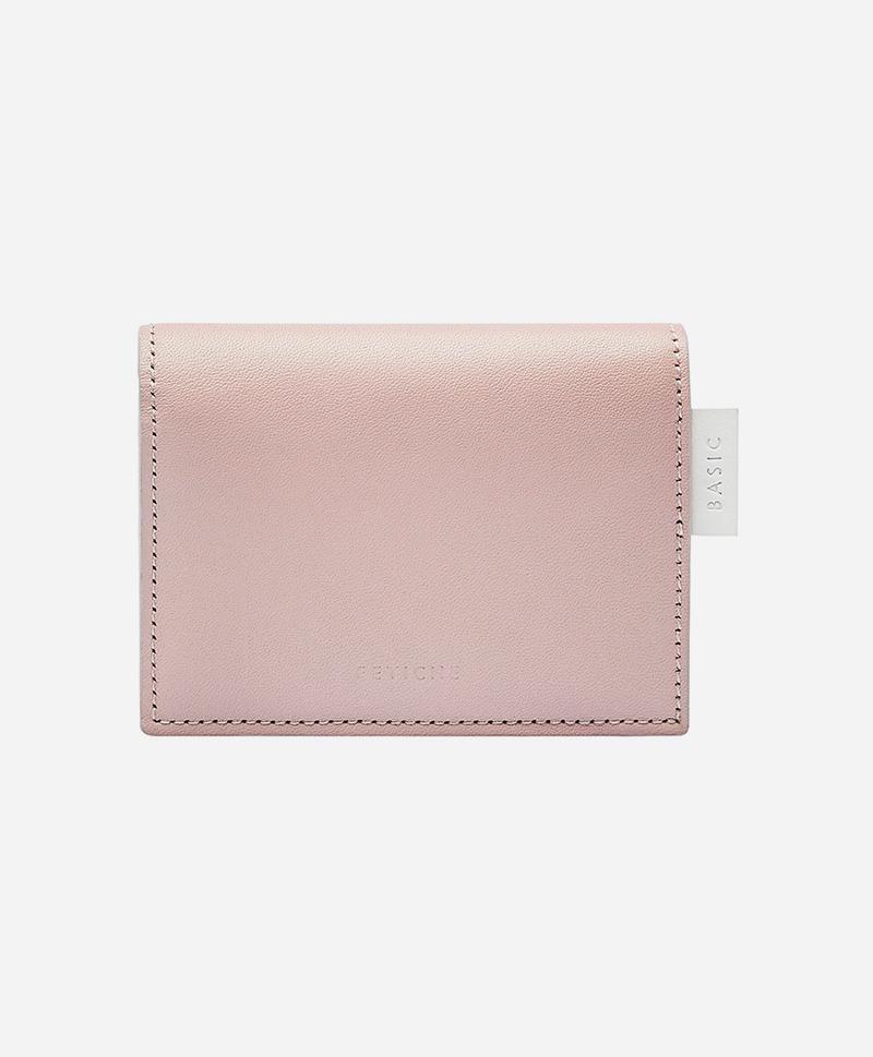 Мини портмоне пудрового цвета